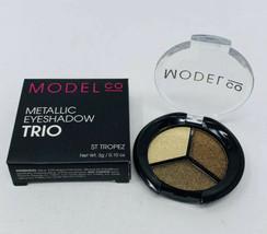 ModelCo Metallic Eyeshadow Trio in ST TROPEZ 3g/.10oz Full Size NIB - $4.80