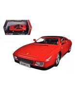 Ferrari 348 TS Red 1/18 Diecast Model Car by Bburago 16006r - $57.22