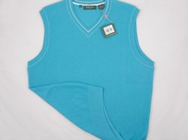 NEW! NWT! $135 Bobby Jones Collection Colorful Vest! 100% Peruvian Pima ... - $49.99