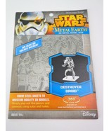 Fascinations Destroyer Droid : Disney Star Wars Metal Earth 3D Metal Mod... - $8.86
