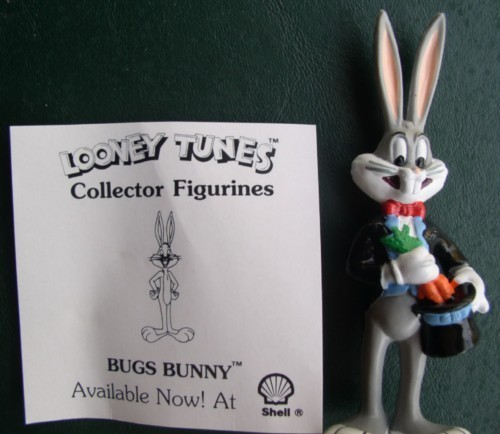 Primary image for Warner Bros Loony Tunes Magician  Bugs Bunny Collector Figurine Cake Topper