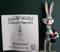 Warner Bros Loony Tunes Magician  Bugs Bunny Collector Figurine Cake Topper - $12.59