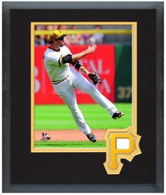 Neil Walker 2014 Pittsburgh Pirates - 11 x 14 Team Logo Matted/Framed Photo - $43.55