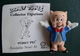Warner Bros Loony Tunes Porky Pig Collector Figurine Cake Topper - $12.59