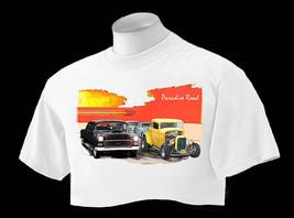 T Shirt American Graffiti Paradise Road Drag Race Scene Ford/Chevy - $24.75