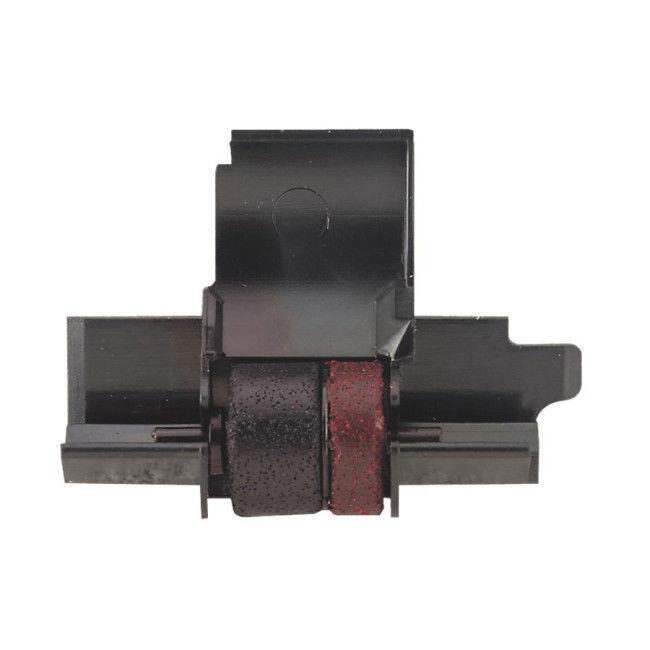 Sharp EL-1750V EL1750V Calculator Ink Roller Compatible Black and Red (2 Pack)