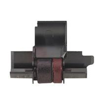 Casio HR150TE HR-150TE Calculator Ink Roller Black and Red (2 Pack)