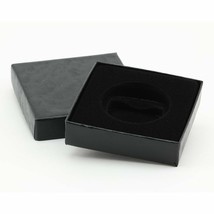 "(1) Black Paper Model ""H"" Air-Tite Single Coin Holder Display Box Case f... - $6.75"