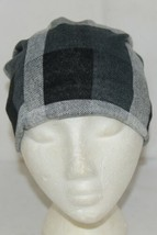 Howards Arianna Collection Buffalo Plaid Convertible Hat Adult Grays image 1