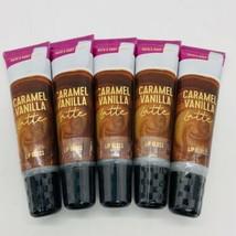 5-Pack Bath & Body Works Caramel Vanilla Latte Lip Gloss 14 ml/0.47 Ml Each - $29.65