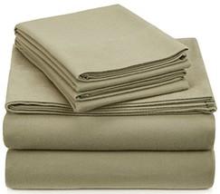 Pinzon Signature 190-Gram Cotton Heavyweight Velvet Flannel Sheet Set - Cal King - $78.90