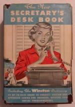 The New Secretary's Desk Book and complete Winston Dictionary for Home a... - $9.85
