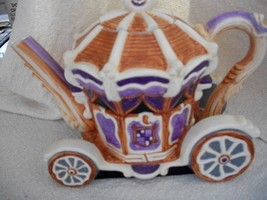 Cinderella's Pumpkin Coach Tea Pot, 2 Horses & 4 Miniature Cups - $70.00