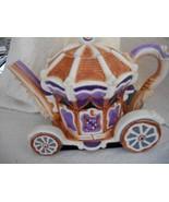 Cinderella's Pumpkin Coach Tea Pot, 2 Horses & 4 Miniature Cups - $70.00