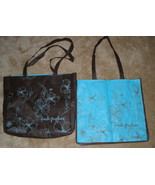 New Fresh Produce Reusable Shoppers Totes Book Bags Reversible  Etched F... - $18.50