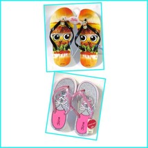 Justice Girls Pictorial Flip Flops