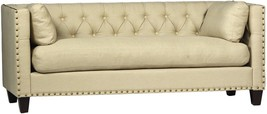 CHIC SHABBY COUTURE TOULON NATURAL SOFA,79''LONG X 33'' X 30''TALL. - $2,202.75