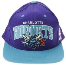 Charlotte Hornets Hat mitchell and ness Hardwood Classics Snapback  - $17.77