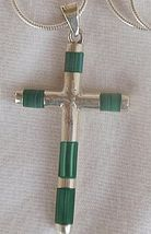 A Cross with Eilat stone - $36.00