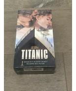Titanic (On 2 VHS Tapes) Leonardo DiCaprio Kate Winslet New Sealed - $14.00