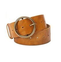 "INC International Concepts 2"" Multi-Holes Classic Panel Belt Tan Small, ... - $19.99"