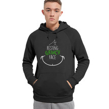 Christmas-Shirt-Resting-Grinch-Face - The Grinch Film Hoodie - $32.99+