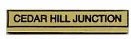 Cedar Hill Junction Sign American Flyer S Gauge Trains Parts - $17.99