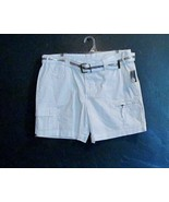 Style & Co. Cargo shorts with Matching Belt Size 14P - $17.10