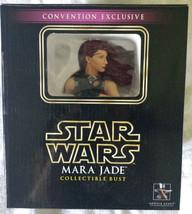 NIB Star Wars Mara Jade Gentle Giant Mini Bust Statue 2006 Exclusive - $558.09