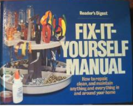 Reader's Digest: Fix It Yourself Manual, How to... - $1.95