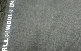 7.5 Yard Navy Blue Pkay Italian Wool Super 130'S Desinger Suit Fabric MS... - $1.529,23 MXN