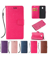 PU Leather Case Elephant Stand Wallet Flip Cover for Samsung Galaxy J5 2... - $6.23