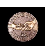RN Operating Room Nurse Lapel Pin Graduation Professional Emblem 5052 New - $12.71