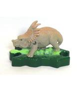 Disney's Dinosaur Toy Figure Eema Styracosaurus McDonalds 2000 Cake Topper - $3.50