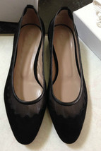 NIB 100% AUTH CHLOE SUEDE Scalloped MESH BALLET flats SHOES $625 - £318.25 GBP