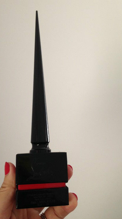 NIB 100% AUTH CHRISTIAN LOUBOUTIN LIMITED EDITION nail polish ROUGE LOUBOUTIN