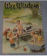 Wee Wisdom August 1952 Children's Magazine - $5.95