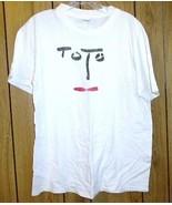 Toto Band Concert Tour T Shirt Vintage 1980's - $149.99