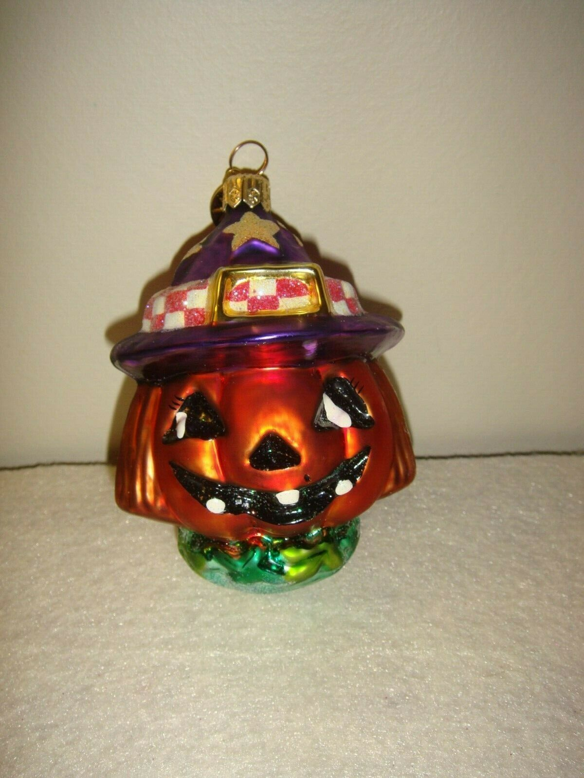 Christopher Radko Halloween Halloween~Fall Jackie O'Lantern Jr Ornament