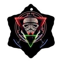 Star Wars Stormtroopers Procelain Ornaments (Snowflake) Christmas - $3.99