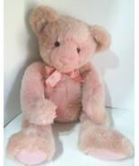 "RARE - RussPlus bead in hand and foot Stuffed Pink Teddy Bear 19"" - $49.99"