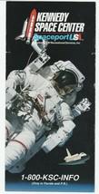 Vintage Travel Brochure Kennedy Space Center Spaceport U.S. 1980's Florida - $8.90