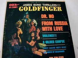 James Bond Thrillers - Zero Zero Seven Band 1964 LP - $7.00