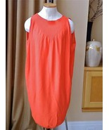 Zero + Maria Cornejo Knit Dress Tunic Sleeveless Saffron M mint - $127.71