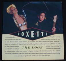 "Roxette - The Look 1989 12"" Vinyl Mixes - $4.00"