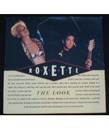"""Roxette - The Look 1989 12"""" Vinyl Mixes - $4.00"""