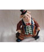 """Mr.  Businesspig""  -  Pig Figurine - $25.00"