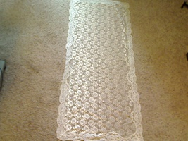 Chapel Veil - Rectangle - Ivory - V-32