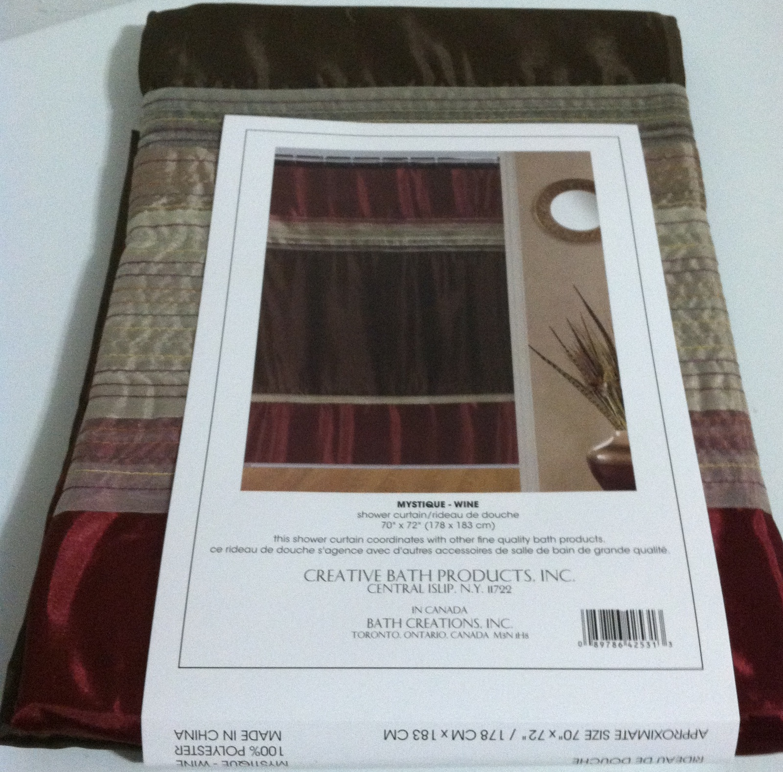 Brand New Fabric Shower Curtain Mystique And 50 Similar Items Img 2928
