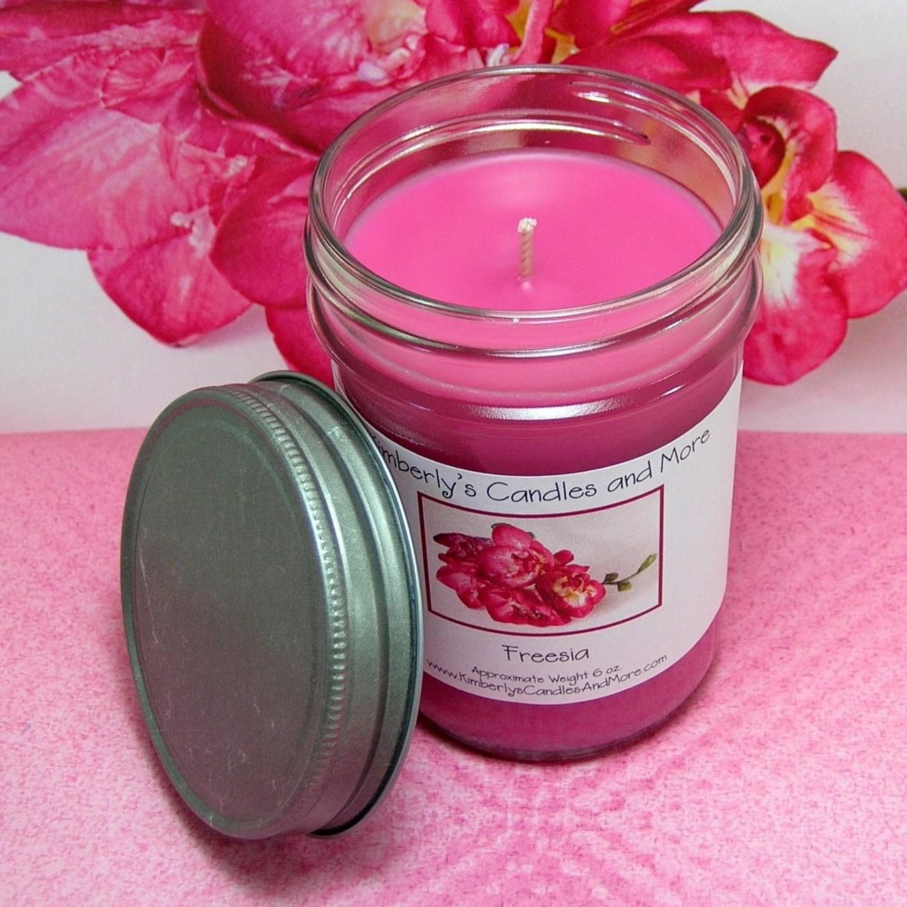 Freesia Jelly Jar Candle